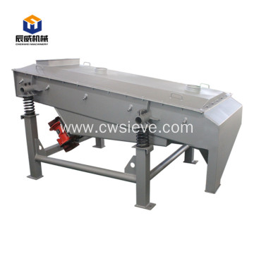 large capacity food linear vibrating screen separator